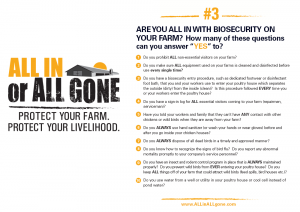 Find out if you are ALL IN with this Biosecurity Survey