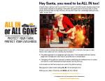 2015 Christmas message