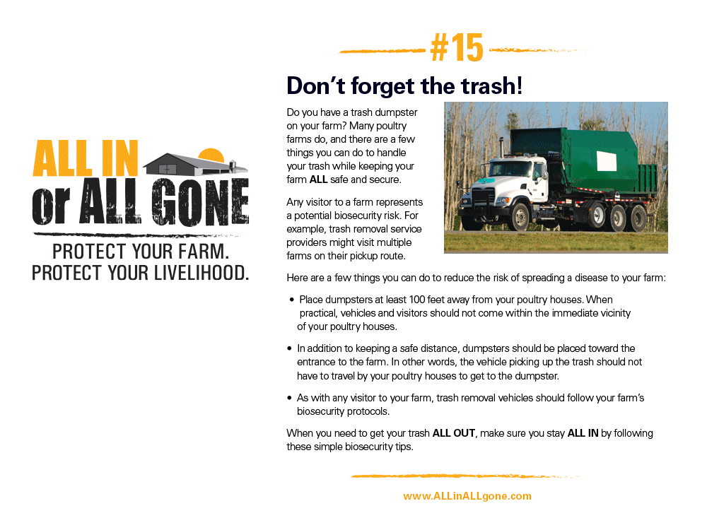 Garbage ALL OUT?