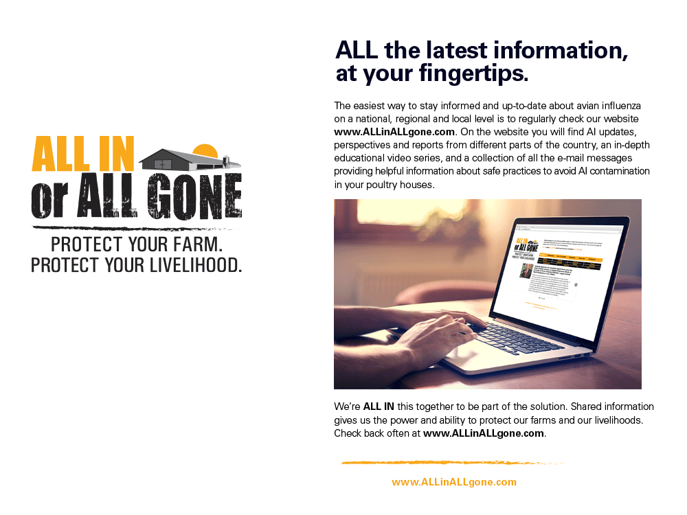 Are you ALL IN-formed?